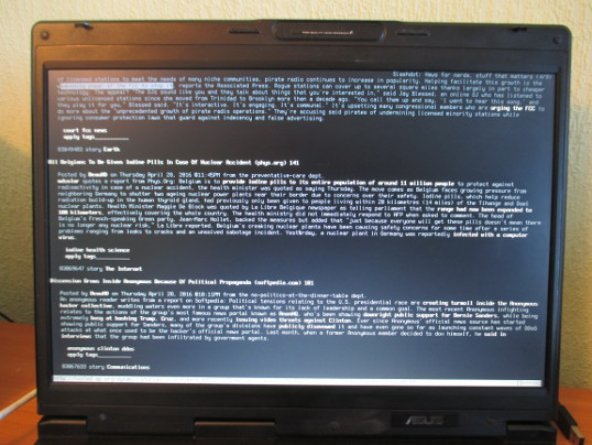 Urgent FreeBSD Installation on Asus A6R Laptop » Zool! Arty Workshop